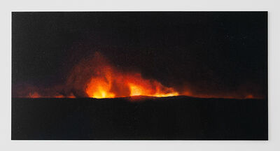 Teresita Fernández, 'Fire (America) 3', 2016