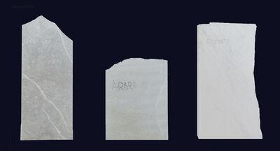 Adrian Paci, 'Names', 2015