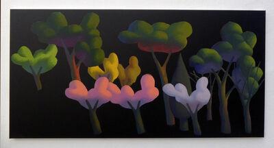 Jonathan Monk, 'Untitled (Trees) XLV', 2017