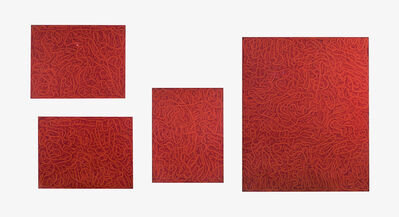 Bernard Cohen, 'Red Multiple', 1965