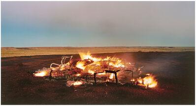 Rosemary Laing, 'burning Ayer #12', 2003