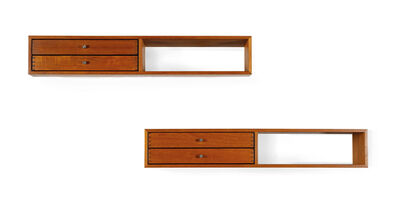 Kai Kristiansen, 'Set of 2 wall mounted console', circa 1960
