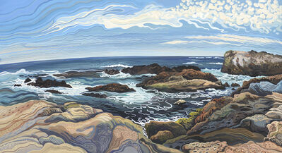Phyllis Shafer, 'Whaler's Cove Point, Lobos'