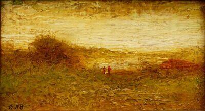 Ralph Albert Blakelock, 'Transcendental Landscape', ca. 1895