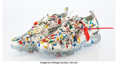 Mr. Brainwash, 'The 10: Nike Air Swoosh (Off-White)', 2017