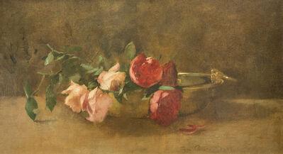 Soren Emil Carlsen, 'Roses in a Dish', ca. 1893
