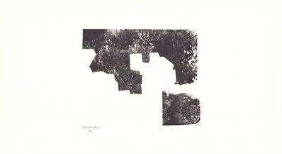Eduardo Chillida, 'Sapai van der Koelen 69001', 1960-1970