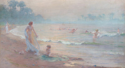 Charles Courtney Curran, 'The Enchanted Shore', 1895