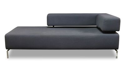 David Chipperfield, 'a grey upholstered sofa / Chaise longue', Of recent manufacture