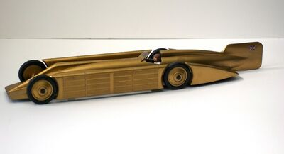 Unknown Artist, 'Golden Arrow model car', 1929