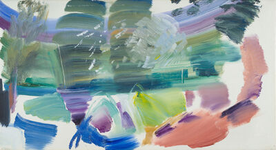 Ivon Hitchens, 'Willows and Water', 1976