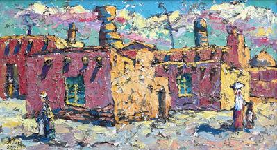 Dilorom Mamedova, 'Yellow-Blue Khiva', 2012