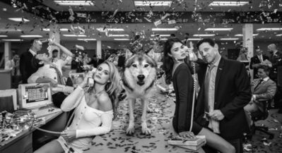 David Yarrow, 'The Wolves of Wall Street 2', 2019