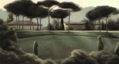 Mallory Lake, 'Afternoon Lawn', 1998