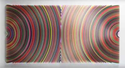 Peter Monaghan, 'Colliding Discs', 2019