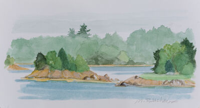 Marguerite Robichaux, 'Quahog Bay Islands', 2019
