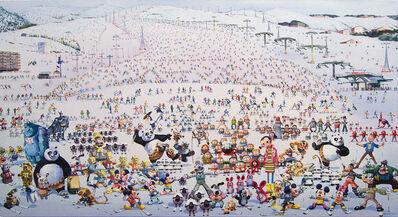 Zhang Gong, 'Skiing Park No. 2', 2010