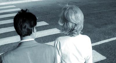 Michelangelo Antonioni, 'L'eclisse (film still with Alain Delon & Monica Vitti)', 1962