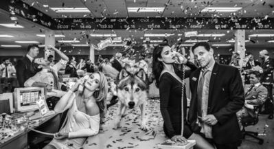 David Yarrow, 'The Wolves of Wall Street', 2019