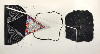 James Rosenquist, 'Star Procter; Shallows; Federal Spending (three works from the Tripartite series)', 1978