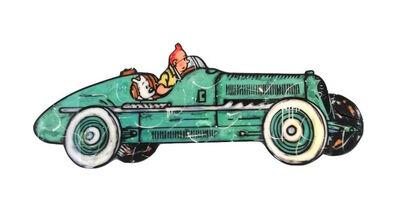 Robert Sgarra, '(ATH) Tintin driving', 2017