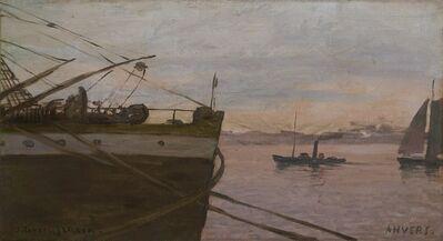 Joaquín Torres-García, 'Antwerp', 1910