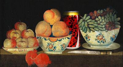 Hojat Amani, 'Peach and Persian Cola', 2014