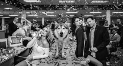 David Yarrow, 'The Wolves of Wall Street II', 2019