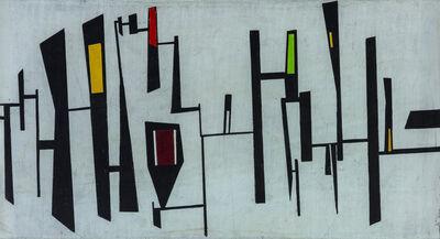 Gianni Dova, 'Composizione geometrica', 1950