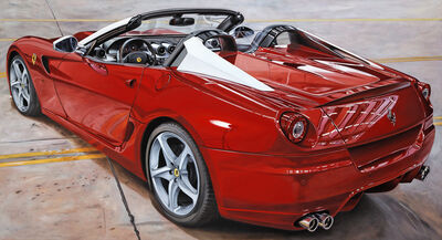 Enrico Ghinato, '599 Roadster back View', 2010