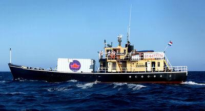 Atelier Van Lieshout, 'A-Portable aboard the Borndiep', 2004