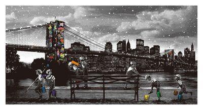 roamcouch, 'Brooklyn Bridge - Rainbow Inc. Variant', 2020