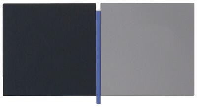 Scot Heywood, 'Un Deux Trois - Black, Blue, Grey', 2008