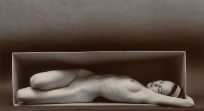 Ruth Bernhard, 'In the Box-Horizontal', 1962