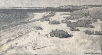Edith Lake Wilkinson, 'Coastal Landscape', c. 1916