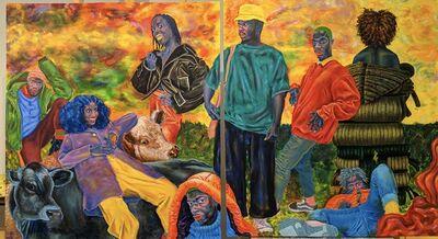 Chukwudubem Ukaigwe, 'Peanut Vendor', 2020