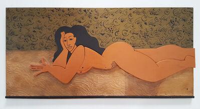 Dora De Larios, 'Untitled (Reclining Woman)'
