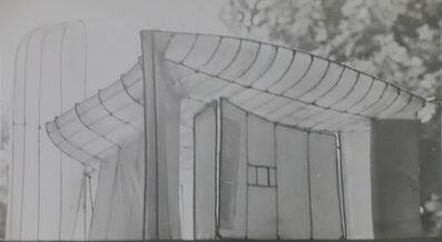 Lucien Hervé, 'Ronchamp Maquette', 1952