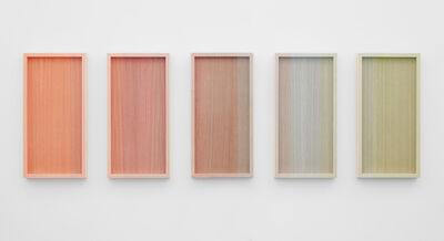 Brian Wills, 'Untitled (Orange to Green Progression)', 2018