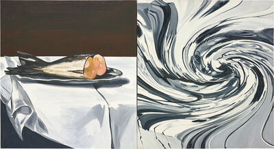 David Salle, 'Still Life with Vortex', 2006