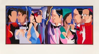 Giancarlo Impiglia, 'Talking Heads', 1989