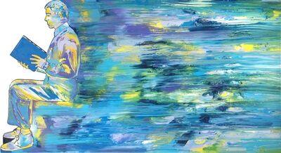 Renato Mambor, 'Il viaggiatore', 1996