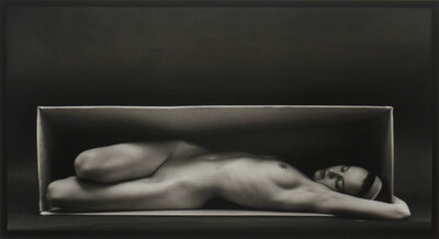 Ruth Bernhard, 'Nude in the Box', 1962