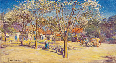 Frans Oerder, 'Farm Scene'