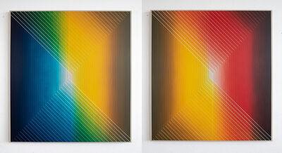 Daniel Mullen, 'Interaction 20-21 (diptych)', 2020