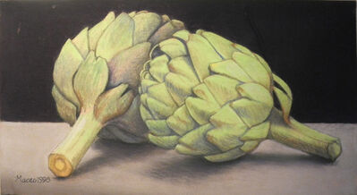 Maceo Mitchell, 'Two Artichokes', 1998