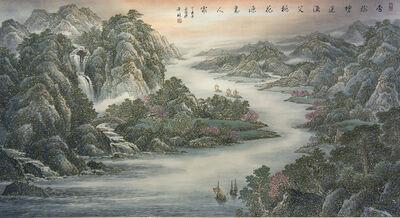 ZHENG XiLin, 'Peach Blossom Paradise 桃花源 ', 2017