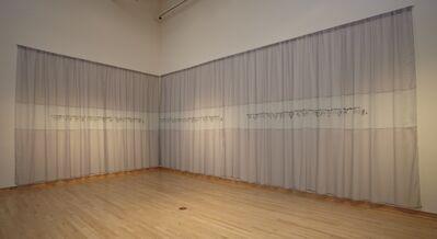 Elaine Reichek, 'First Morse Message', 2003-2006