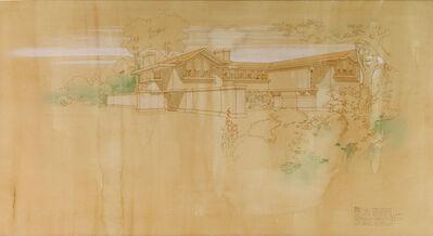 Frank Lloyd Wright, 'Gerts Walter, Residence', 1905