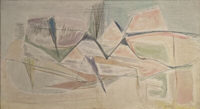Carmen Herrera, 'Eléments clairs', 1951